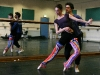 The Paris Opera Ballet dancers Delphine Moussin and Jeremie Belingard rehearse for Jewels in Sydney, June 2007, Fairfax Photos, Photo by Robert Pearce