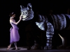 Sarah Lamb and the Cheshire Cat, Alice's Adventures in Wonderland, photo by Dave Morgan