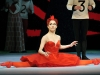 Tamara Rojo as the Red Queen in Alice's Adventures in Wonderland, Royal Ballet, photo by Dave Morgan