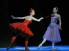 Tamara Rojo and Sarah Lamb in Alice's Adventures in Wonderland, photo Dave Morgan