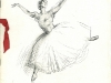 Daryl Lindsay artwork, Les Sylphides, Gala charity program, Melbourne 1940