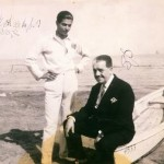 Diaghilev with Serge Lifar