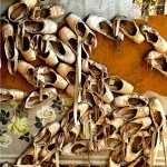 pointe shoes still life