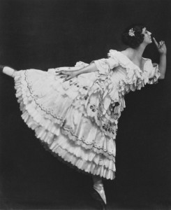 Tamara Karsavina as Columbine