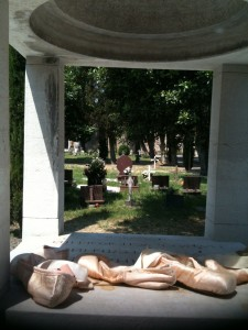Diaghilev's grave, May 21, 2011