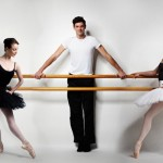 The Australian Ballet's new principals, Amber Scott, Andrew Killian and Leanne Stojmenov. Photo, James Braund.