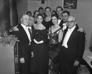 Fonteyn backstage in Sydney, 25 May 1957