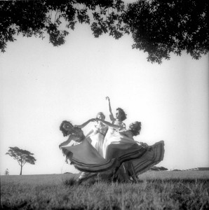 Evelyn Ippen,Bettina Vernon, Emmy Taussig and Shona Dunlop in Blue Danube Waltz, 1939