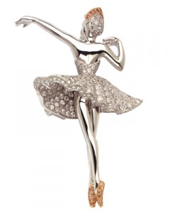 Van Cleef and Arpels ballerina brooch