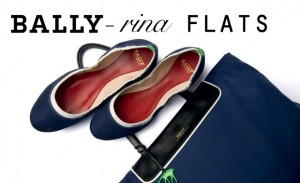 Bally-rina flats and bag