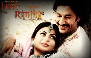 Heer and Ranjha Bollywood style