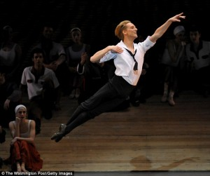 David Hallberg, in The Bright Stream