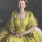 William Dargie's portrait of Queen Elizabeth, 1954