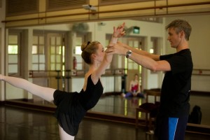 Christopher Hampson coaching at Genée