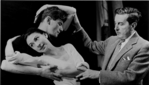 Frederick Ashton coaches Margot Fonteyn and Michael Somes in Ondine