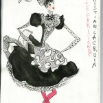 Christian Lacroix's design for Gâité Parisienne