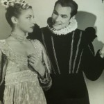 Pamela Bromley with John Faassen in Volpone, 1947