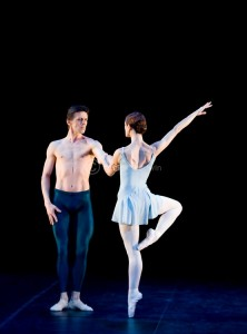 Trois Gnossiennes, English National Ballet, photo © Patrick Baldwin