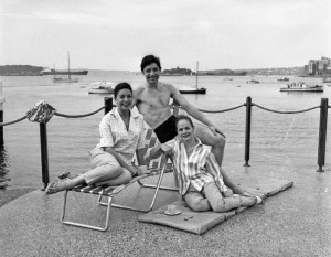Margot Fonteyn, David Blair, and Maryon Lane