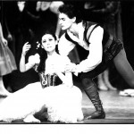 Fiona Tonkin and Paul De Masson in Giselle, 1986. Photo courtesy of the Australian Ballet