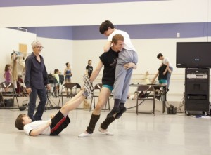 Twyla Tharp rehearses The Princess and the Goblin