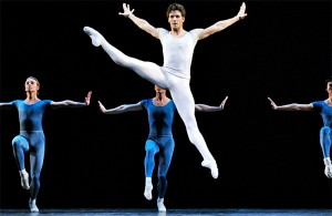 Guillaume Côté and artists of the National Ballet of Canada in Opus 19/The Dreamer.
