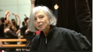 Olga Evreinoff teaches class
