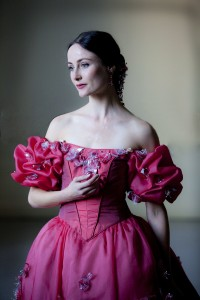 Amber Scott, as Tatiana in Onegin, The Australian Ballet, photo © Lynette Wills