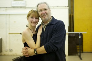 Daria Klimentova with Wayne Eagling