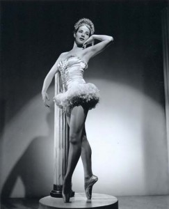 Beth Dean in The Waltz King, 1944, photographer unknown