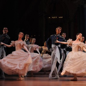 Artists of the Australian Ballet, Onegin, Act III, photo © Branco Gaica