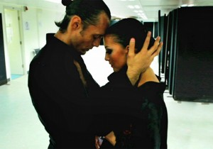 Slavik Kryklyvyy and Anna Melnikova in Ballroom Dancer