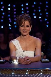 Darcey Bussell  on Strictly Come Dancing, December 2009, photo, BBC Pictures