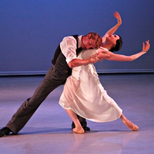 Rachael Walsh and Keian Langdon in Cloudland, photo  © Ken Sparrow