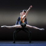 Darcey Bussell with Jonathan Cope in Christopher Wheeldon's Tryst