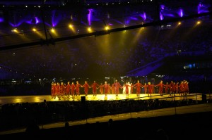 Akram Khan and dancers, London Olympics 2012