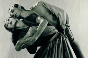 Keith Bain & Coralie Hinkley in Central Australian Suite by Bodenwieser, 1957. Photo © Max Dupain