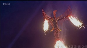 Darcey Bussell as the Phoenix