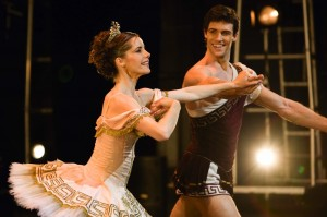 Darcey Bussell and Roberto Bolle, curtain call, Sylvia, 2007, photo © Johan Persson