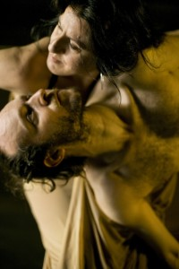 Sidi Larbi Cherkaoui and Maria Pagés in Dunas, photo © Koen Broos
