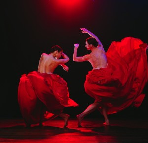 Felicia Palanca and Sarah Peace in Bella Figura, photo © Jeff Busby