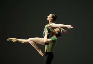 Antonia Hewitt and Brendan Bradshaw in A Song in the Dark
