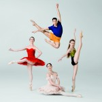 Royal New Zealand Ballet 2013 poster, photo ©  Ross Brown