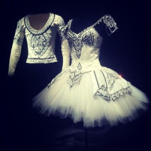Costumes for Nureyev's Bayadere for himself and Noëlla Pontois