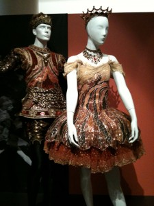 Kristian Fredrikson's costumes for Graeme Murphy's Nutcracker, Time in Motion exhibition