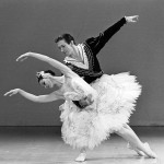 Marilyn Rowe and Kelvin Coe in Swan Lake 1983. Photo courtesy of the Australian Ballet