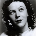 Zora Semberova in the 1930s