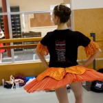 Studio rehearsal for 2012 Genée International Ballet Competition