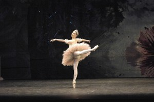 Rachel Rawlins in Peter Wright's production of Nutcracker, Australian Ballet, 2007, photo  © Jim McFarlane