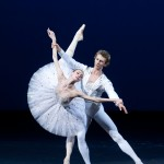 Semyon Chudin and Olga Smirnova in George Balanchine's Diamonds. Photo © Elena Fetisova